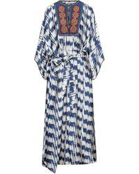 Bazar Deluxe Long Dress - Blue