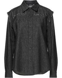 Limi Feu Denim Shirt - Black