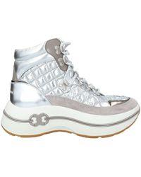 Tory Burch Sneakers - Metallic