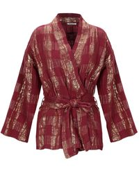 Mes Demoiselles Suit Jacket - Red
