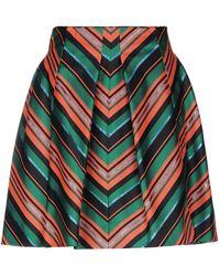 Delpozo Midi Skirt - Green
