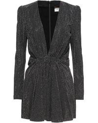 Saint Laurent Robe courte - Noir