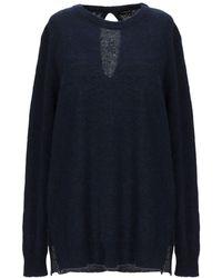 European Culture Sweater - Blue