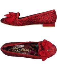 Irregular Choice Ballet Flats - Red