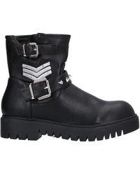 CafeNoir Ankle Boots - Black