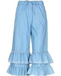 CHILI 3/4-length Trousers - Blue