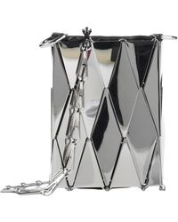 Paco Rabanne Cross-body Bag - Metallic