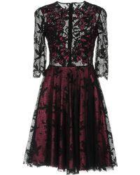 Sophia Kah - Short Dress - Lyst
