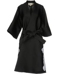 Antonio Berardi Overcoat - Black