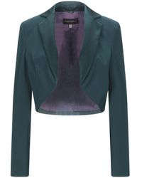 Talbot Runhof Suit Jacket - Green