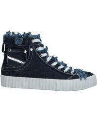 DIESEL High-tops & Sneakers - Blue