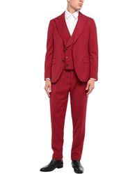 Gabriele Pasini Anzug - Rot