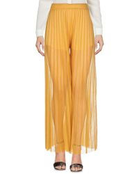 Jucca Casual Trouser - Yellow