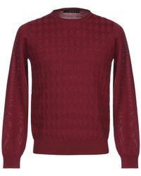 Jeordie's Pullover - Rojo