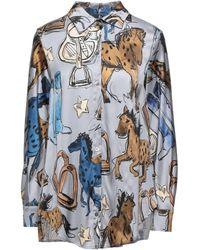 Shirtaporter Camisa - Gris