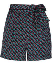 Diane von Furstenberg Shorts & Bermuda Shorts - Blue