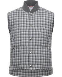 Thom Browne Down Jacket - Grey