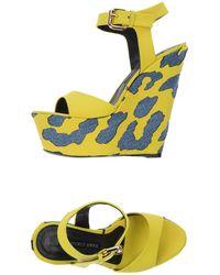 Gianmarco Lorenzi Sandals - Yellow