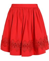 Alice + Olivia - Knee Length Skirt - Lyst