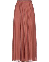 Caractere Long Skirt - Brown