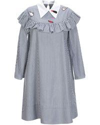 Vivetta Short Dress - Gray