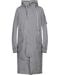 Rick Owens Drkshdw Coat - Gray