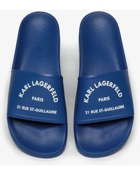 Karl Lagerfeld Sandals - Blue