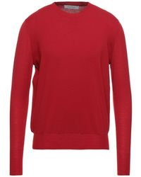 Cedric Charlier Pullover - Rouge