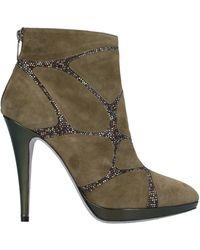 Rene Caovilla Ankle Boots - Green