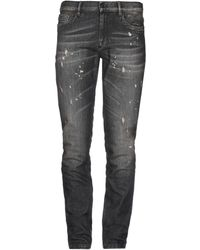 Bikkembergs Denim Pants - Black