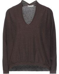 Knit Knit Jumper - Brown