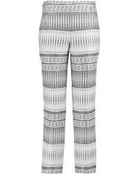 Amanda Wakeley Casual Trousers - White