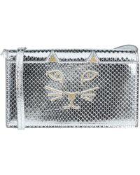 Charlotte Olympia Cross-body Bag - Metallic