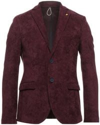 Berna Suit Jacket - Purple