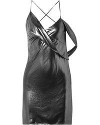 Michelle Mason Vestito al ginocchio - Grigio