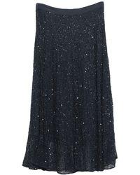 Caractere 3/4 Length Skirt - Blue