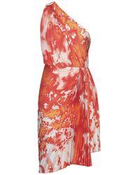 MSGM Short Dress - Orange