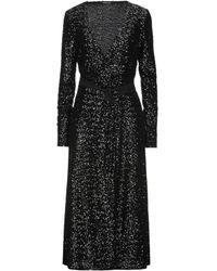 ANDAMANE Robe midi - Noir
