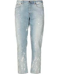 Mauro Grifoni - Pantalon en jean - Lyst