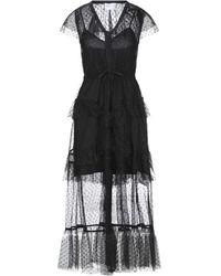 ISABELLE BLANCHE Paris Long Dress - Black