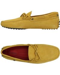 Tod's For Ferrari Loafers - Yellow