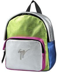 Giuseppe Zanotti Backpacks & Bum Bags - Metallic