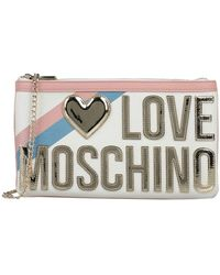 Love Moschino Handbag - White