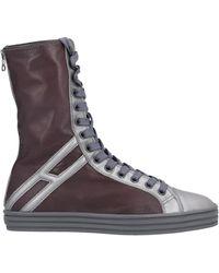 Hogan Rebel Ankle Boots - Multicolour