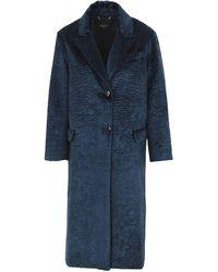 Paltò Teddy coat - Blu