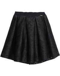 Rinascimento Knee Length Skirt - Black