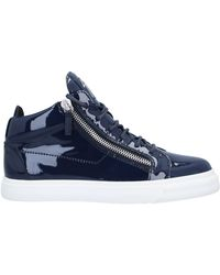 Giuseppe Zanotti Sneakers abotinadas - Azul