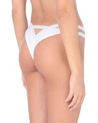 Emporio Armani String - Weiß