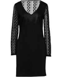 Vila Short Dress - Black