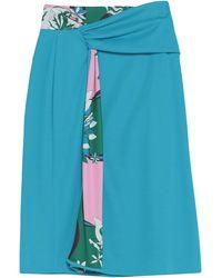 Emilio Pucci Midi Skirt - Blue